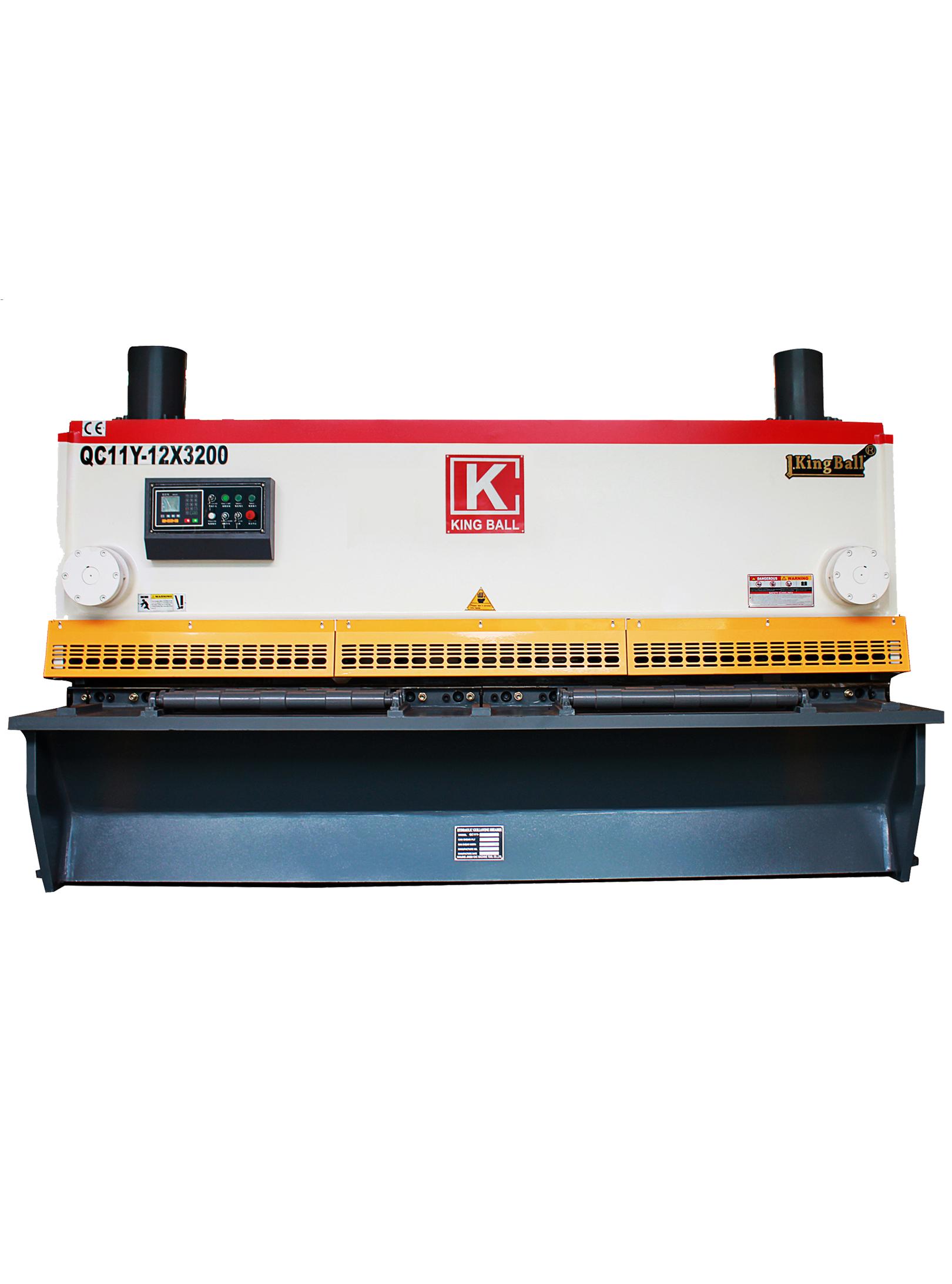 QC11K數控液壓閘式剪板機